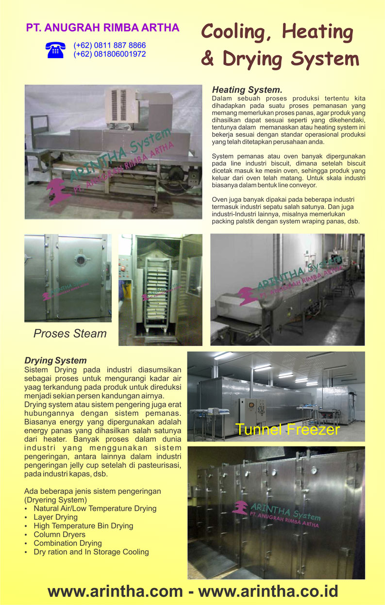 Cooling, Heating and Drying System